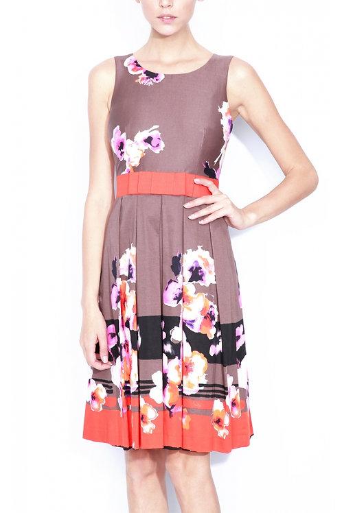 Cocktail coloured dress