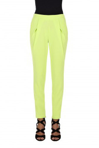Pistachio colour trousers