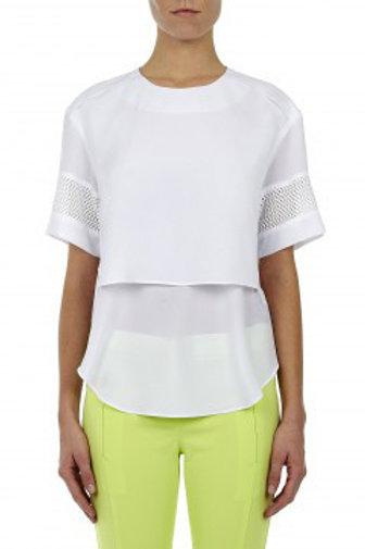 White 2 levels shirt