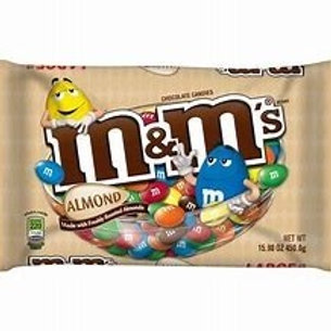 M&M Almond Share Bag
