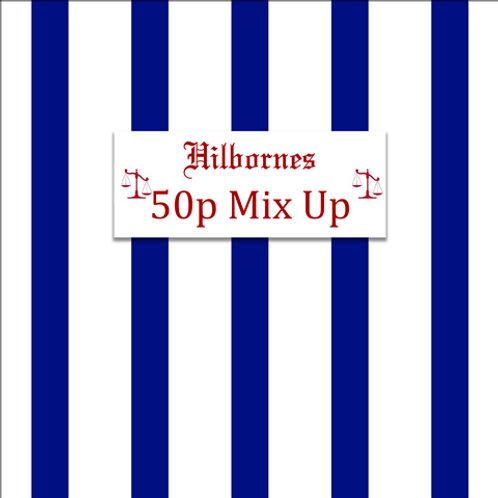 Hilbornes 50p Choc Mix-up