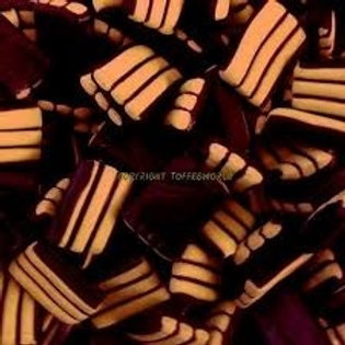 Liquorice Stripes Chocolate