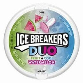 Icebreakers Duo Mint and Watermelon