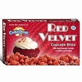 Red Velvet Cookie Dough Bites