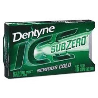 Dentyne Ice Subzero