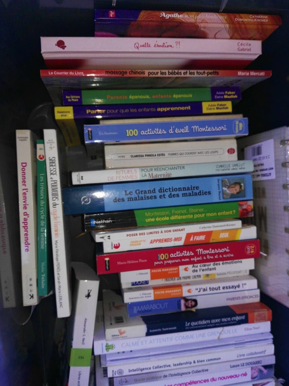 Prêt de livres et ressourcerie