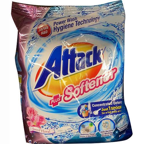 Attack Powder Detergent - Plus Softener (Sweet Floral) 1.4kg