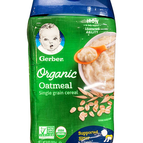 Gerber Organic Baby Cereal - Oatmeal