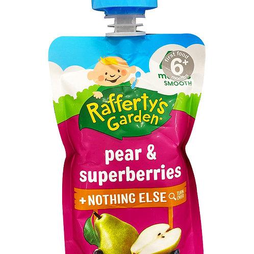Rafferty's Garden Baby Food - Pear & Superberries