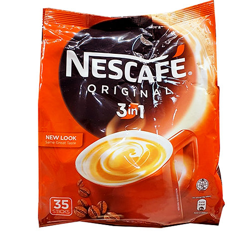 Nescafe 3 in 1 Instant Coffee - Original 35 x 19g