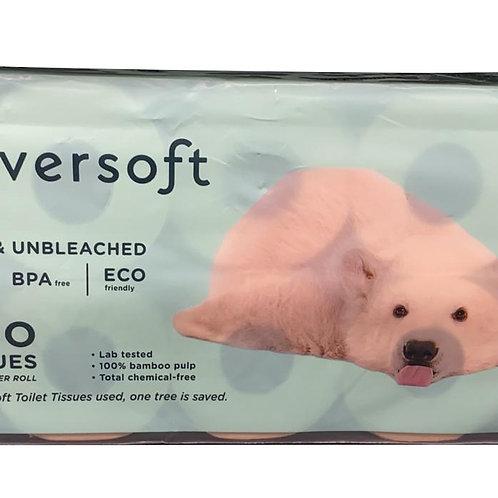 Cloversoft Bamboo Bathroom Tissue Rolls (3ply)