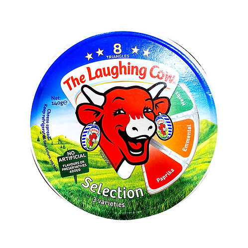 The Laughing Cow Cheese Spread - Selection (3 Varieties) 140g