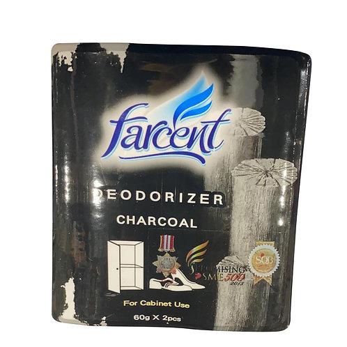 Farcent Charcoal Deodorizer - Cabinet 2 x 60g