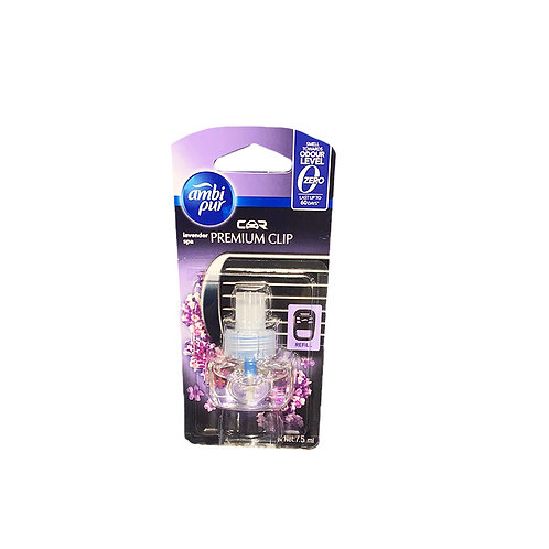 Ambi Pur Car Air Freshener Refill - Lavender Spa 7ml