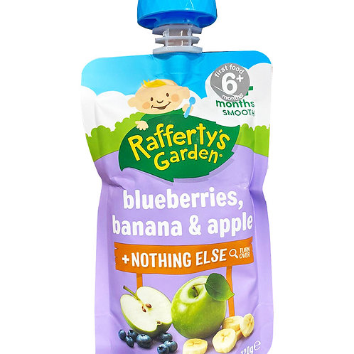Rafferty's Garden Baby Food - Blueberry, Banana & Apple