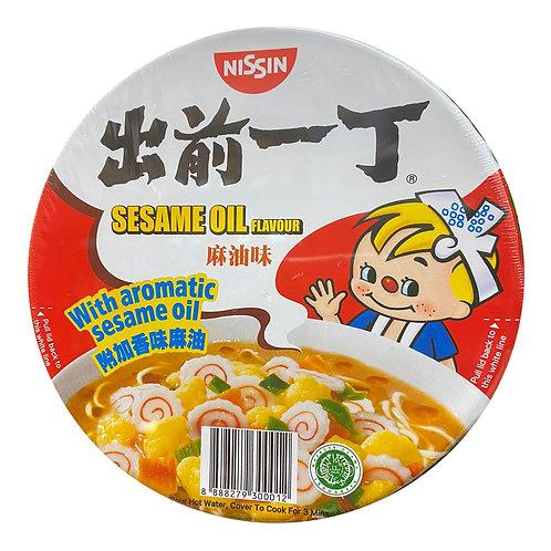 Nissin Instant Bowl Noodles - Sesame Oil 110g