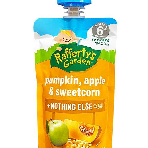 Rafferty's Garden Baby Food - Pumpkin, Apple & Sweetcorn