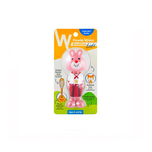 Pearlie White Kids Toothbrush - CompactRounded (ExtraSoft)