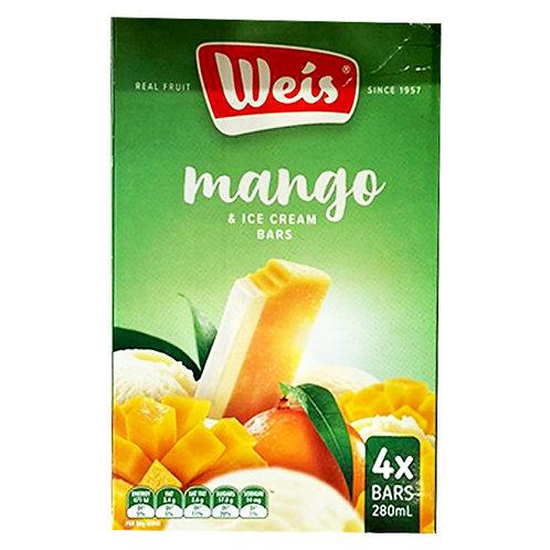 Weis Ice Cream - Mango 280ml (4 per pack)