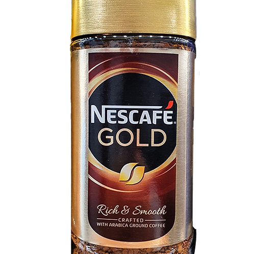 Nescafe Gold Instant Arabica Ground Coffee - Rich & Smooth 200g