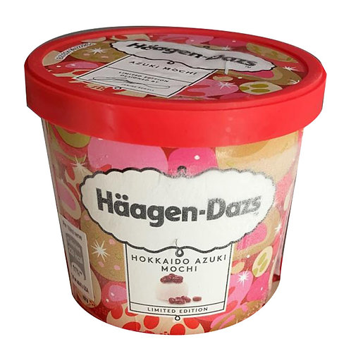 Haagen-Dazs Ice Cream - Hokkaido Azuki Mochi 473ml