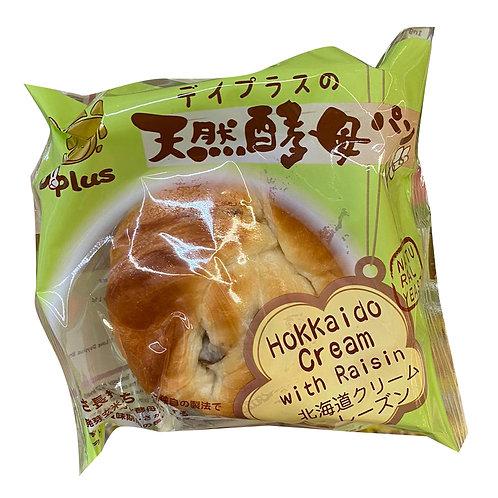 Dayplus Natural Yeast Bread - Hokkaido Cream with Raisin