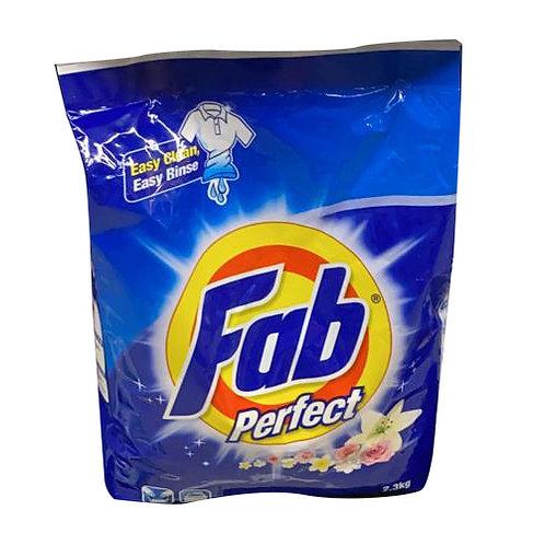 Fab Detergent Powder - Perfect 2.3kg