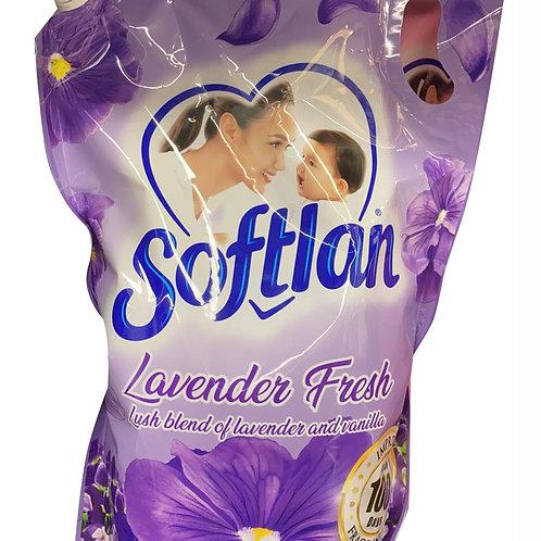 Softlan Anti-Wrinkles Fabric Conditioner Refill - Lavender Fresh 1.6L