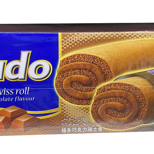 Fudo Flavoured Cream Swissroll - Chocolate
