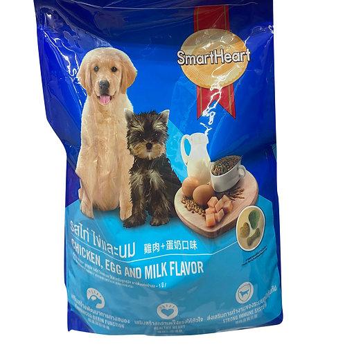 SmartHeart Puppy Dry Food - Chicken, Egg and Milk 1.5kg