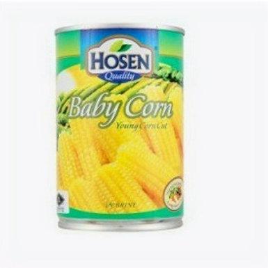 Hosen Baby Corn in Brine - Young Cut