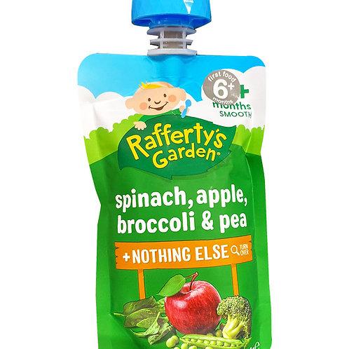 Rafferty's Garden Baby Food - Spinach, Apple, Broccoli & Pea