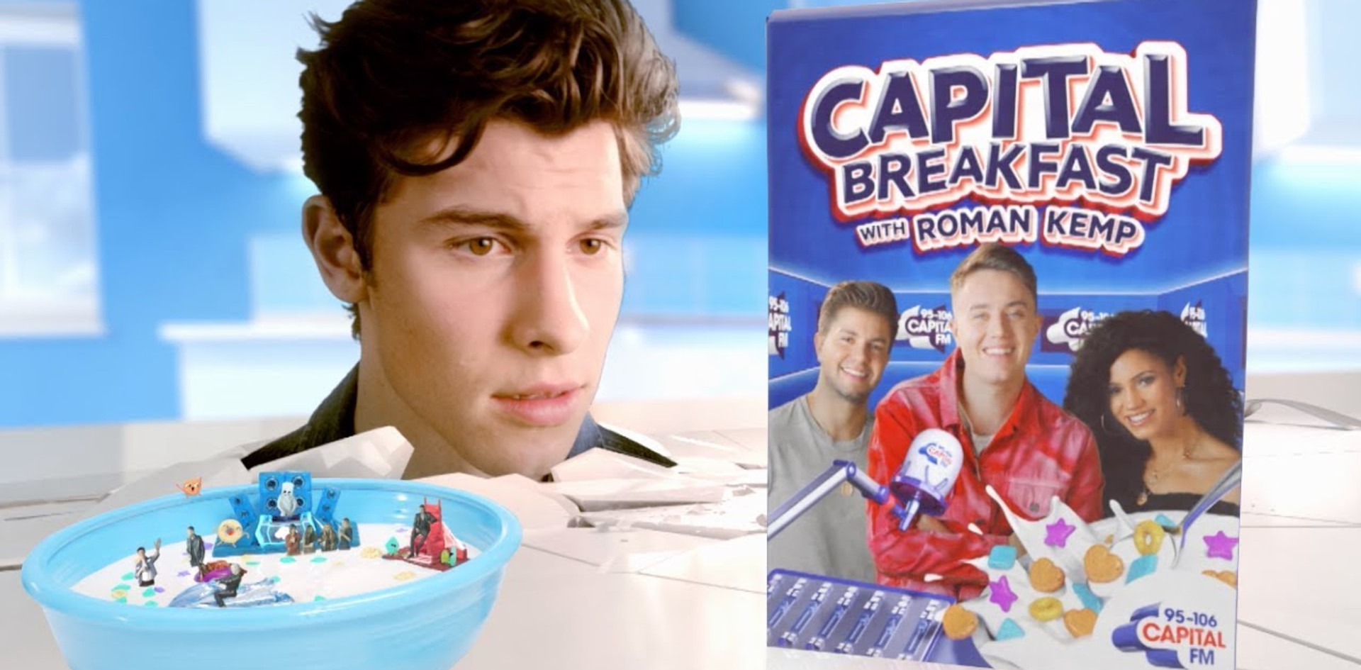 Capital Breakfast with Roman Kemp... Now That Sounds Tasty!