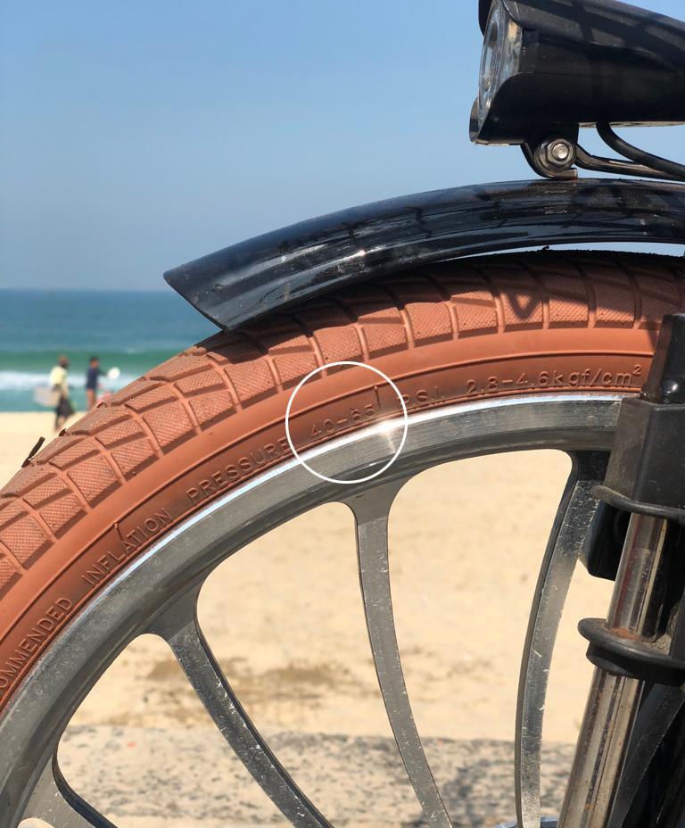 Dica 2 para manutenção de sua bicicleta: verifique regularmente a calibragem dos pneus de sua bike