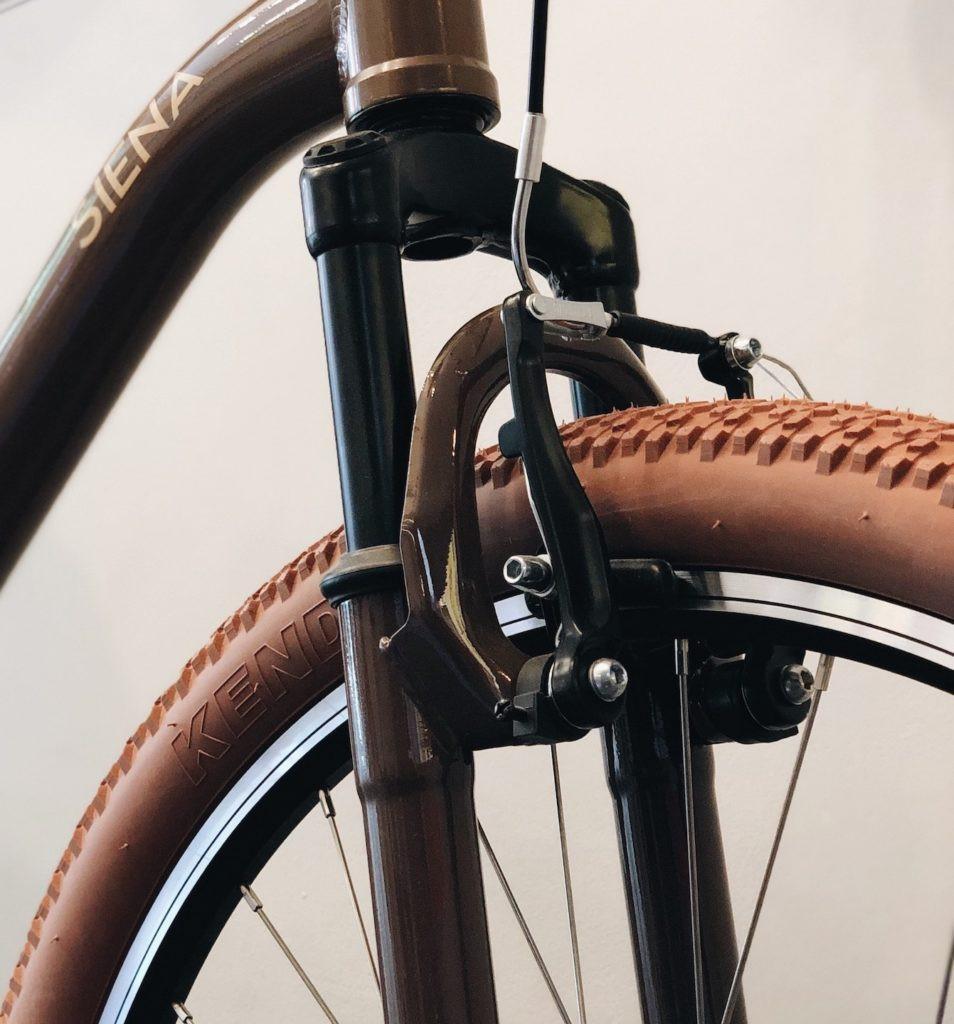 Dica 6 para a manutenção de sua bicicleta: faça revisão periódica nos freios de sua bike.