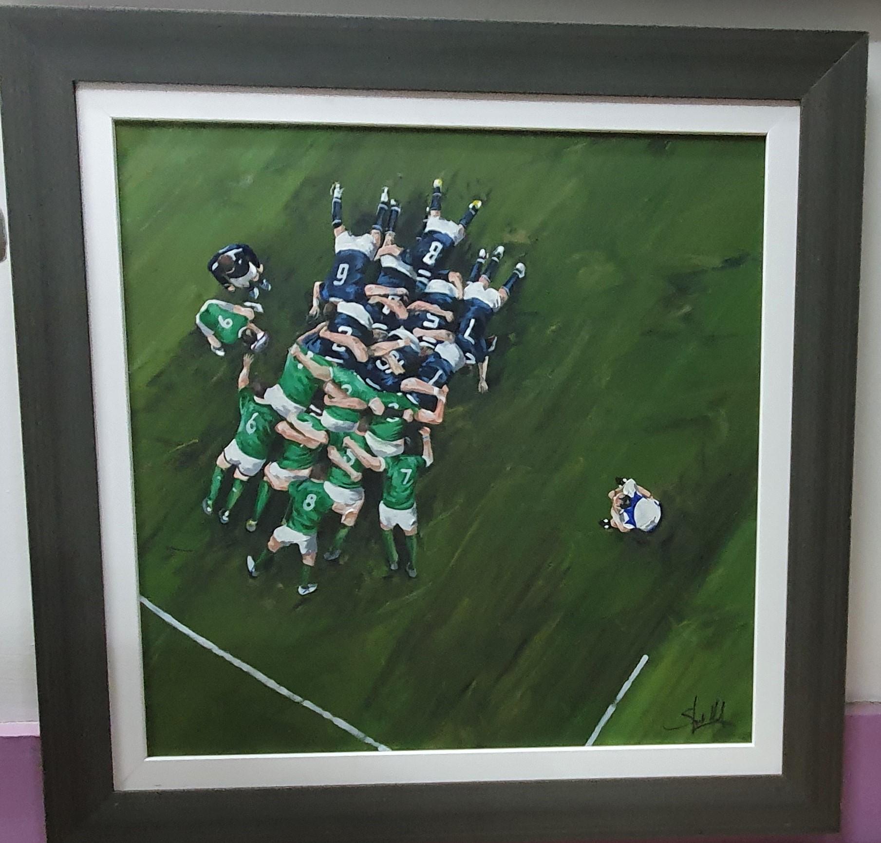 Scrum Down - Scotland v Ireland 2017