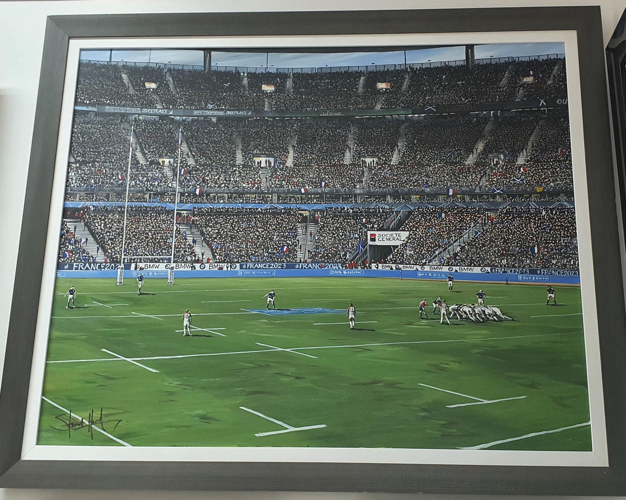 Stade de France - France v Scotland