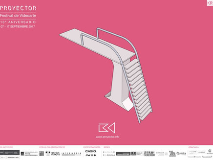 Proyector Festival n°10 - Institut Français Madrid - Madrid - ESPAGNE - 2017