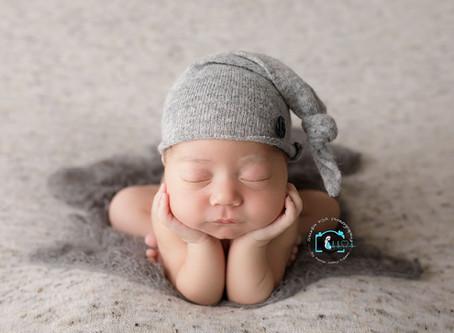 Luca - 10 Days : Ormeau, Gold Coast Newborn Photography