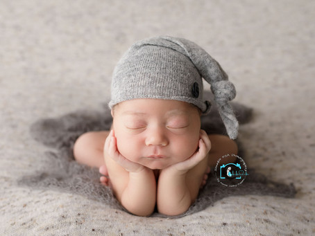 Luca - 10 Days : Ormeau, Gold Coast Newborn Photography
