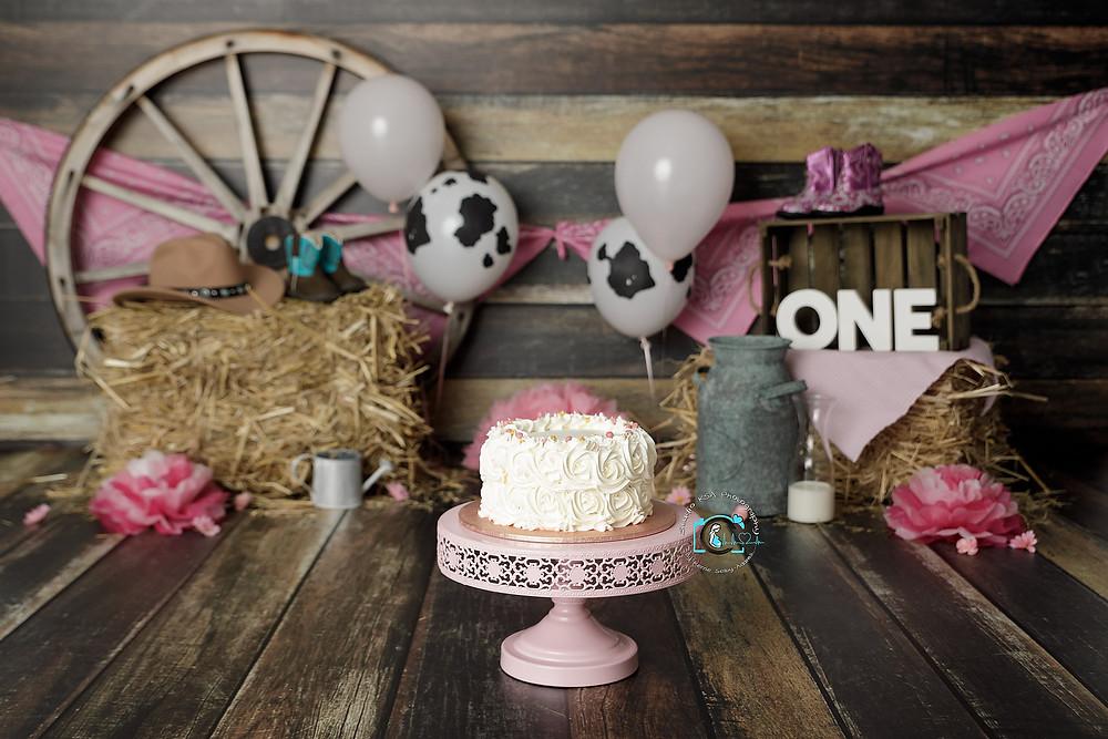 Cowgirl Cake Smash