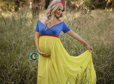 Gorgeous Vanessa - 33 Weeks Pregnant : Ormeau, Gold Coast & Brisbane maternity photography