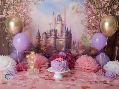 Maddison's 1st Birthday Cake Smash : Ormeau, Gold Coast Cake Smash Photography