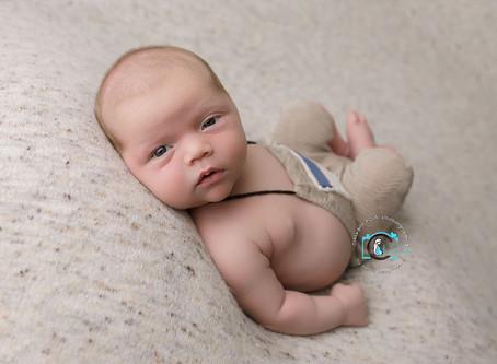 Oliver - 17 Days New : Ormeau, Gold Coast Newborn Photography