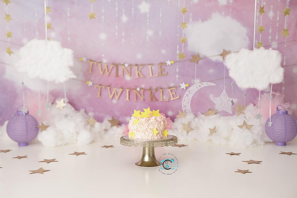Twinkle Twinkle Cake Smash