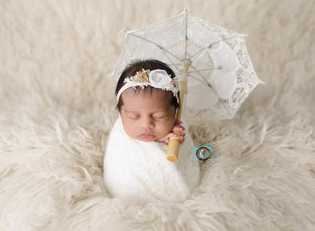 Arina - 16 Days : Ormeau, Gold Coast Newborn Photography