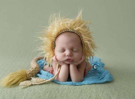 Edward - 11 Days New : Ormeau, Gold Coast Newborn Photography