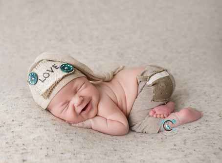 Lincoln - 15 Days : Ormeau, Gold Coast Newborn Photography