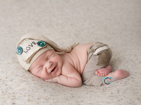 Lincoln - 15 Days : Ormeau, Gold Coast Newborn Photography