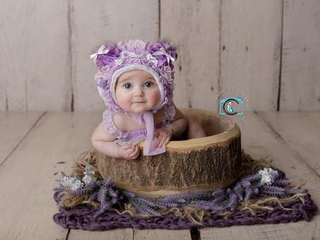 Sariah - 6 Months : Brisbane & Gold Coast Baby photography